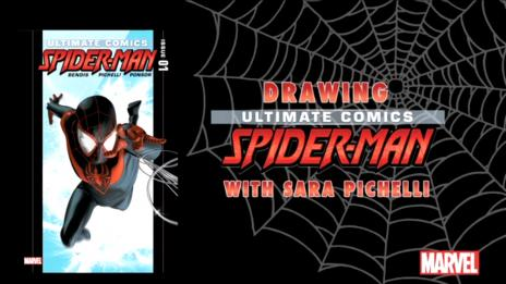 Drawing Ultimate Comics Spider-Man