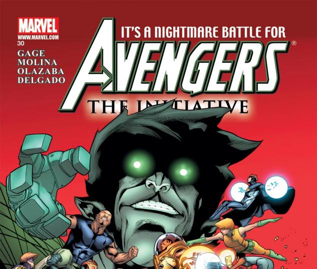 Avengers: The Initiative (2007) #30