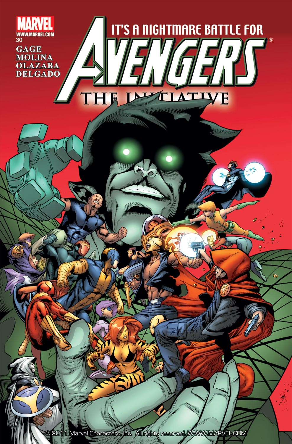 Avengers: The Initiative (2007) #30