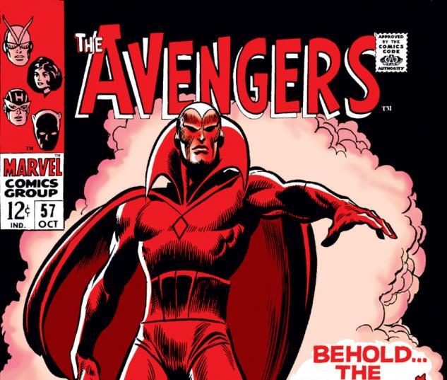 Avengers (1963) #57 cover