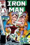 Iron Man (1968) #205 Cover