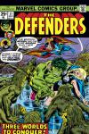 Defenders (1972) #27 Cover