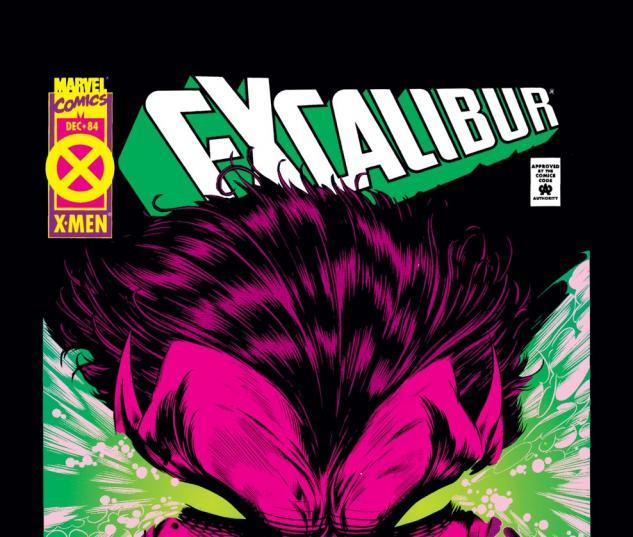 Excalibur (1988) #84 Cover