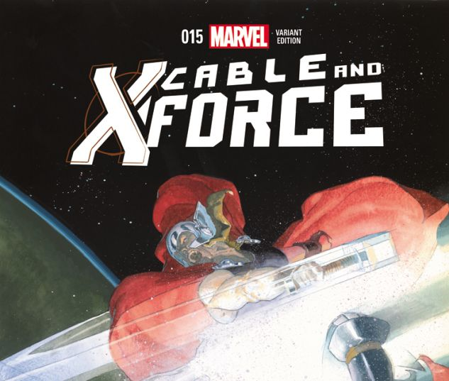 CABLE AND X-FORCE 15 RIBIC THOR BATTLE VARIANT (WITH DIGITAL CODE)