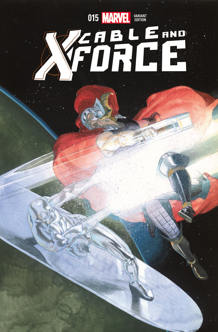 Cable and X-Force (2012) #15 (Ribic Thor Battle Variant)