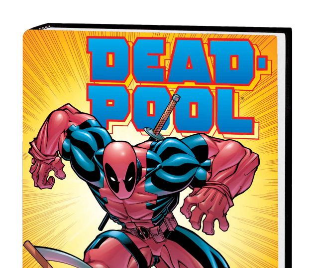 DEADPOOL BY JOE KELLY OMNIBUS HC VARIANT (DM ONLY)