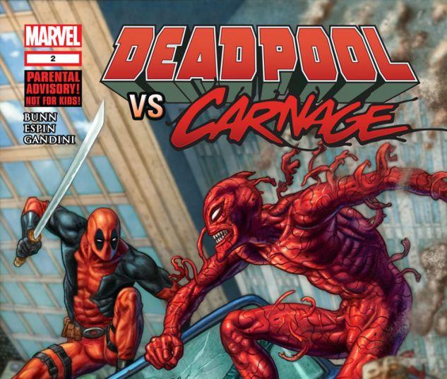 DEADPOOL VS. CARNAGE 2 (WITH DIGITAL CODE)