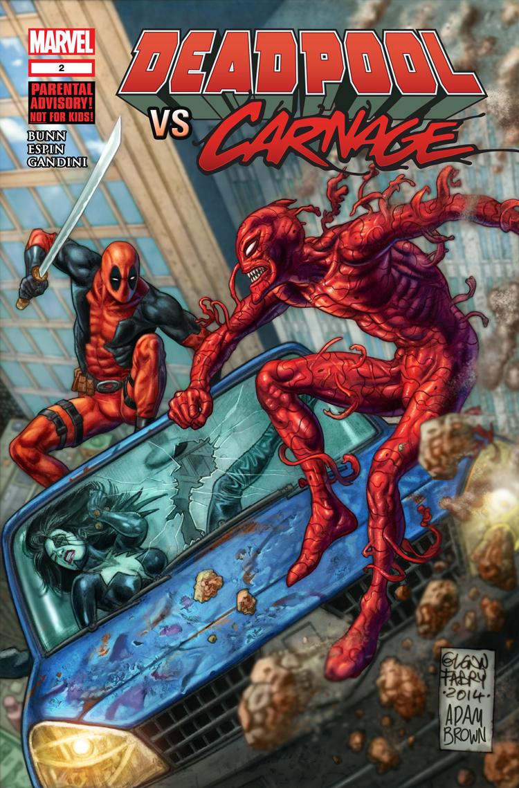 Deadpool Vs. Carnage (2014) #2