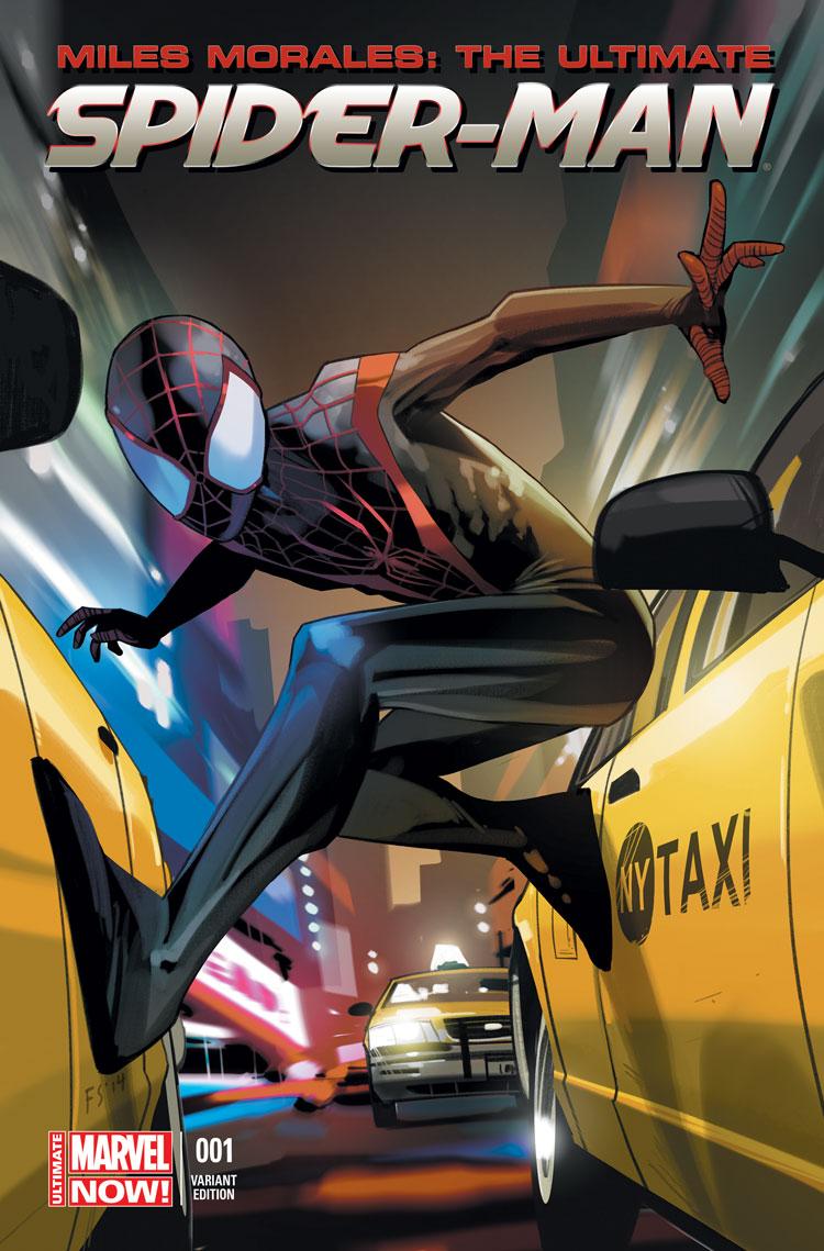 Miles Morales: Ultimate Spider-Man (2014) #1 (Staples Variant)