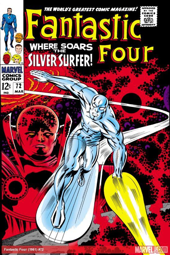 Fantastic Four (1961) #72