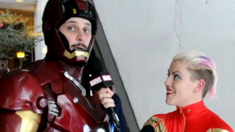 Marvel AR: Iron Man Cosplay from DragonCon