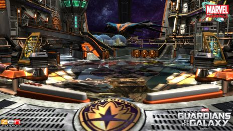 Marvel Pinball: Guardians of the Galaxy screenshot
