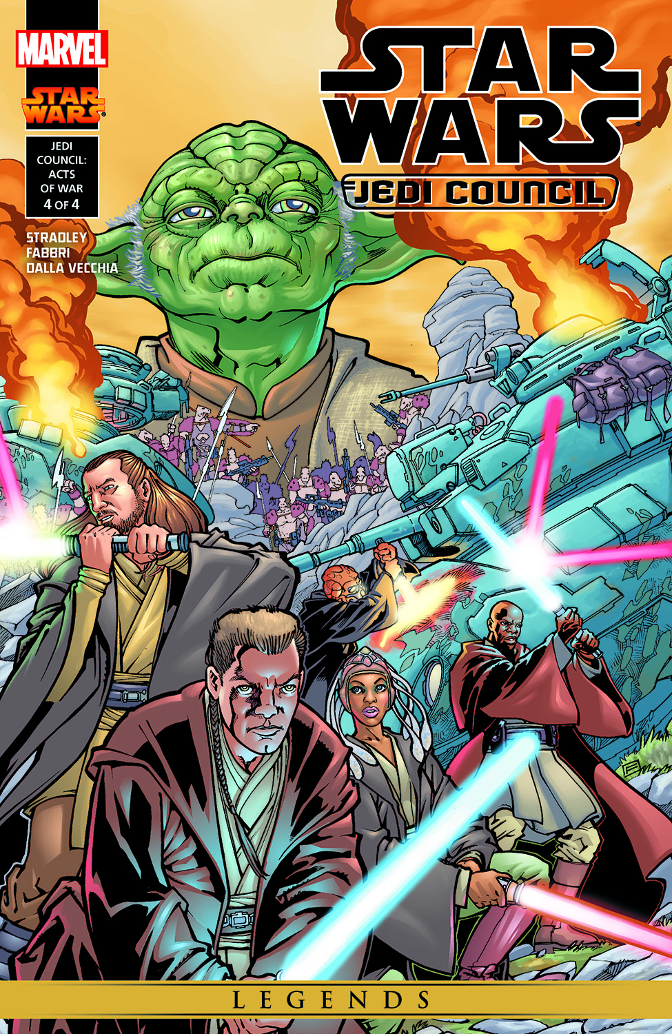 Star Wars: Jedi Council - Acts Of War (2000) #4