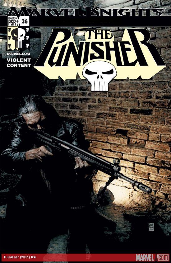 Punisher (2001) #36