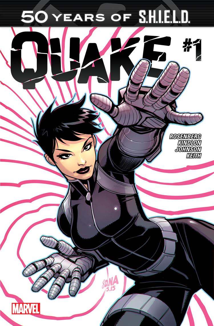 Quake: S.H.I.E.L.D. 50th Anniversary (2015) #1