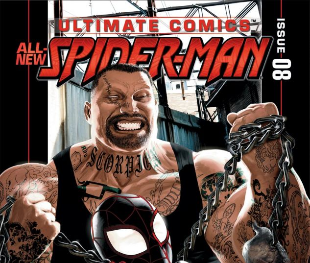 ULTIMATE COMICS SPIDER-MAN (2011) #8 Cover