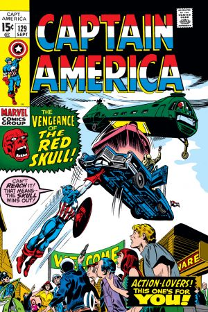 Captain America (1968) #129