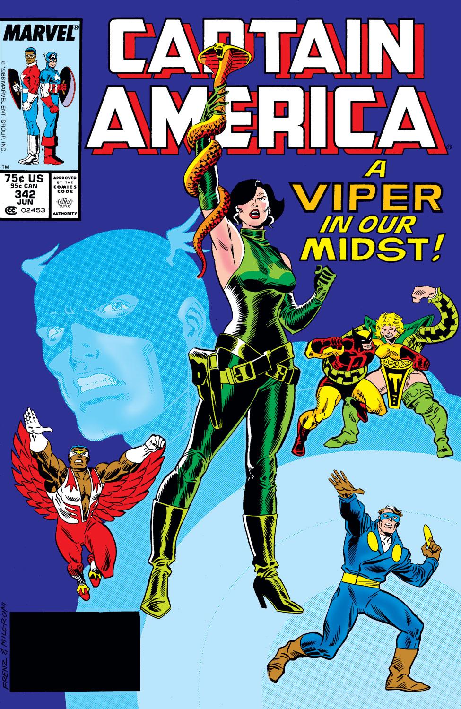 Captain America (1968) #342