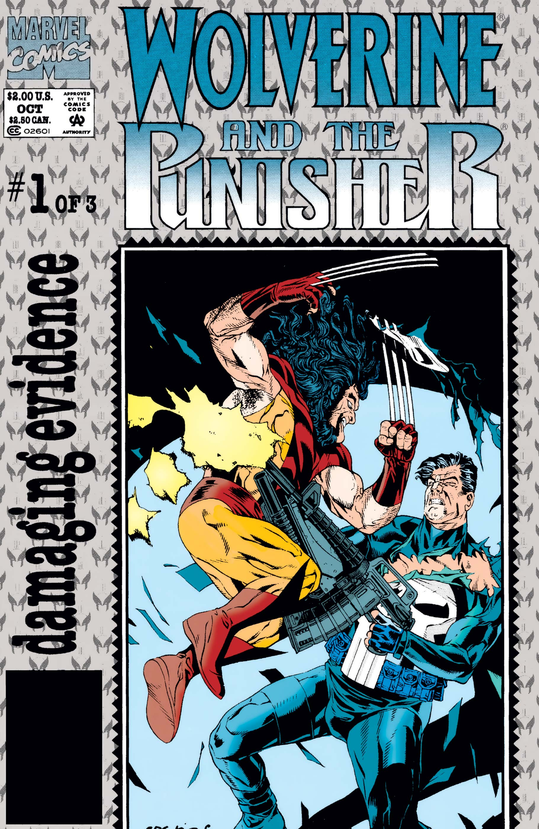 Wolverine and The Punisher: Damaging Evidence (1993) #1