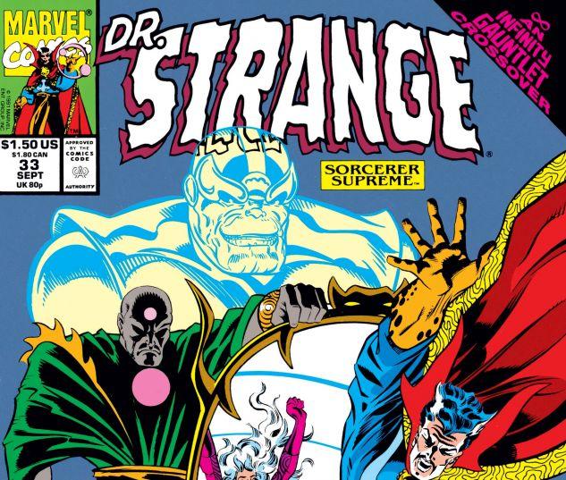 Cover for DOCTOR STRANGE, SORCERER SUPREME #33