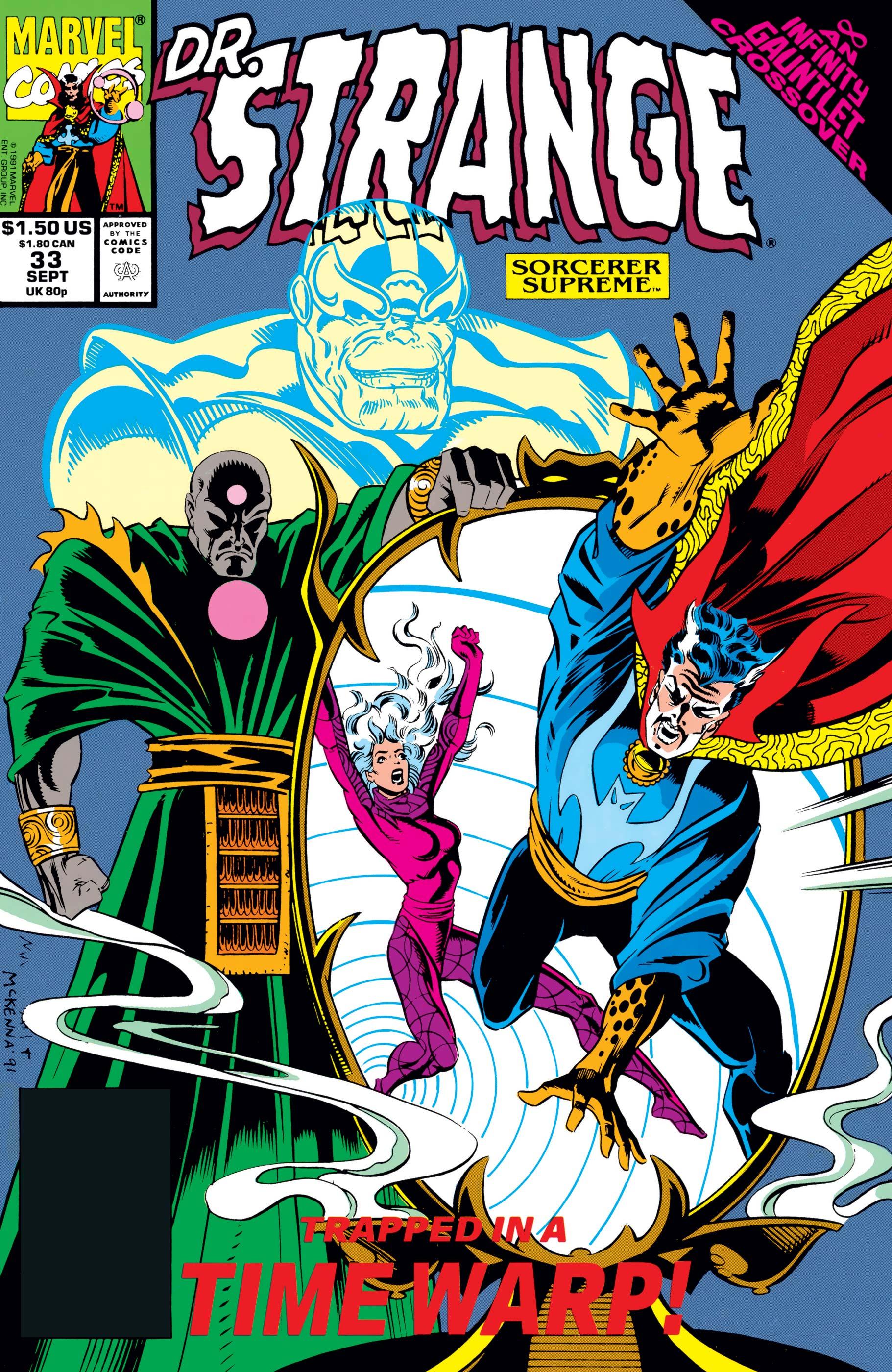 Doctor Strange, Sorcerer Supreme (1988) #33