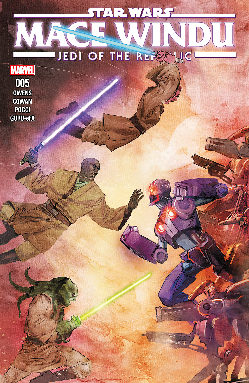 Star Wars: Jedi of the Republic – Mace Windu (2017) #5