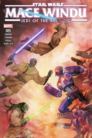 Star Wars: Jedi of the Republic – Mace Windu #5