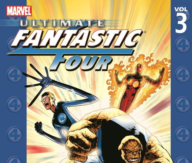 ULTIMATE FANTASTIC FOUR VOL. 3: N-ZONE 0 cover