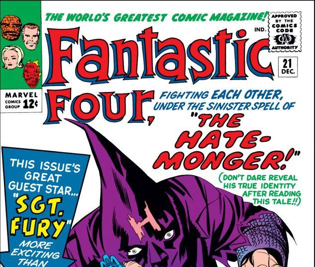 FANTASTIC FOUR (1961) #21