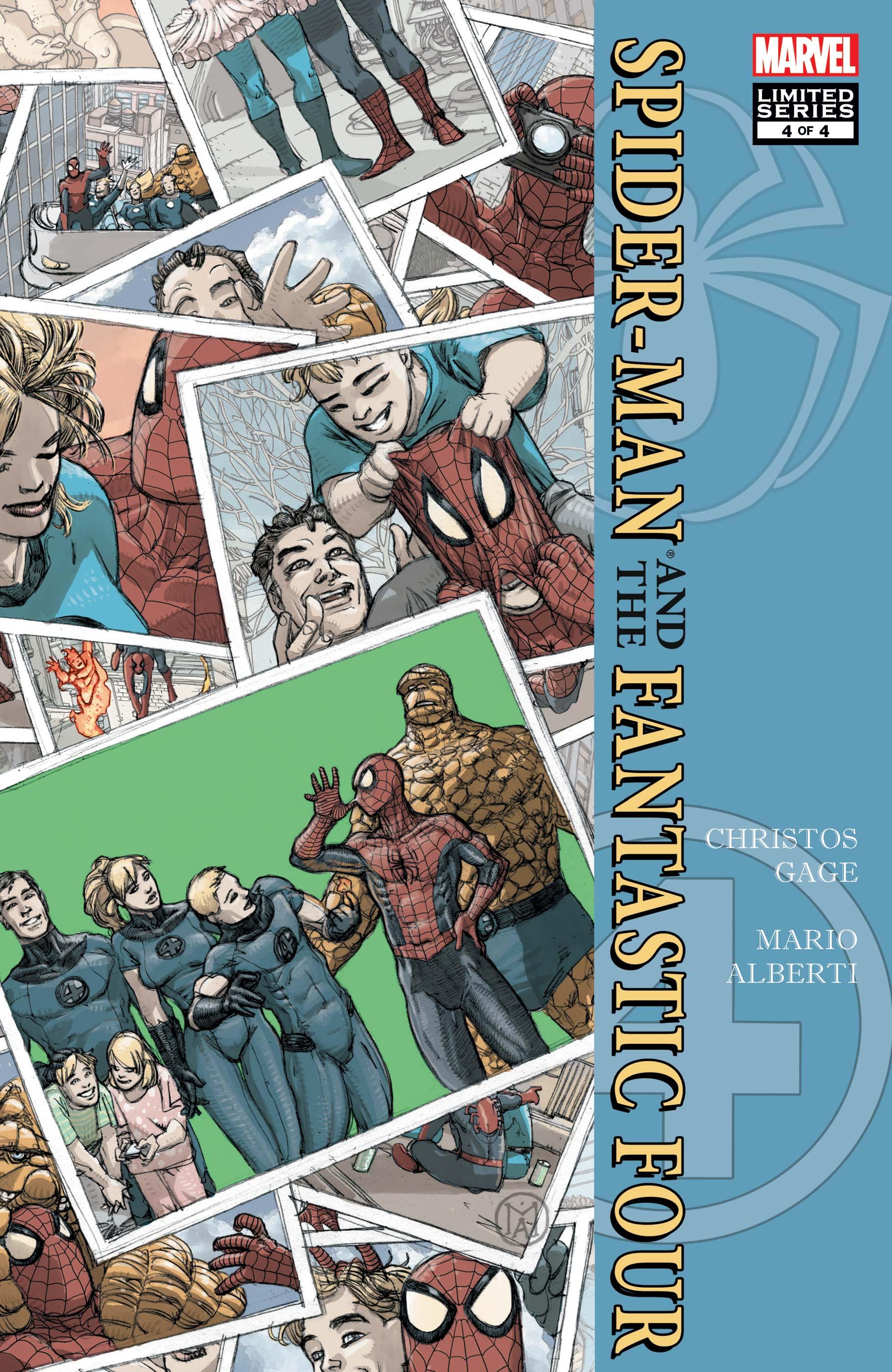 Spider-Man/Fantastic Four (2010) #4