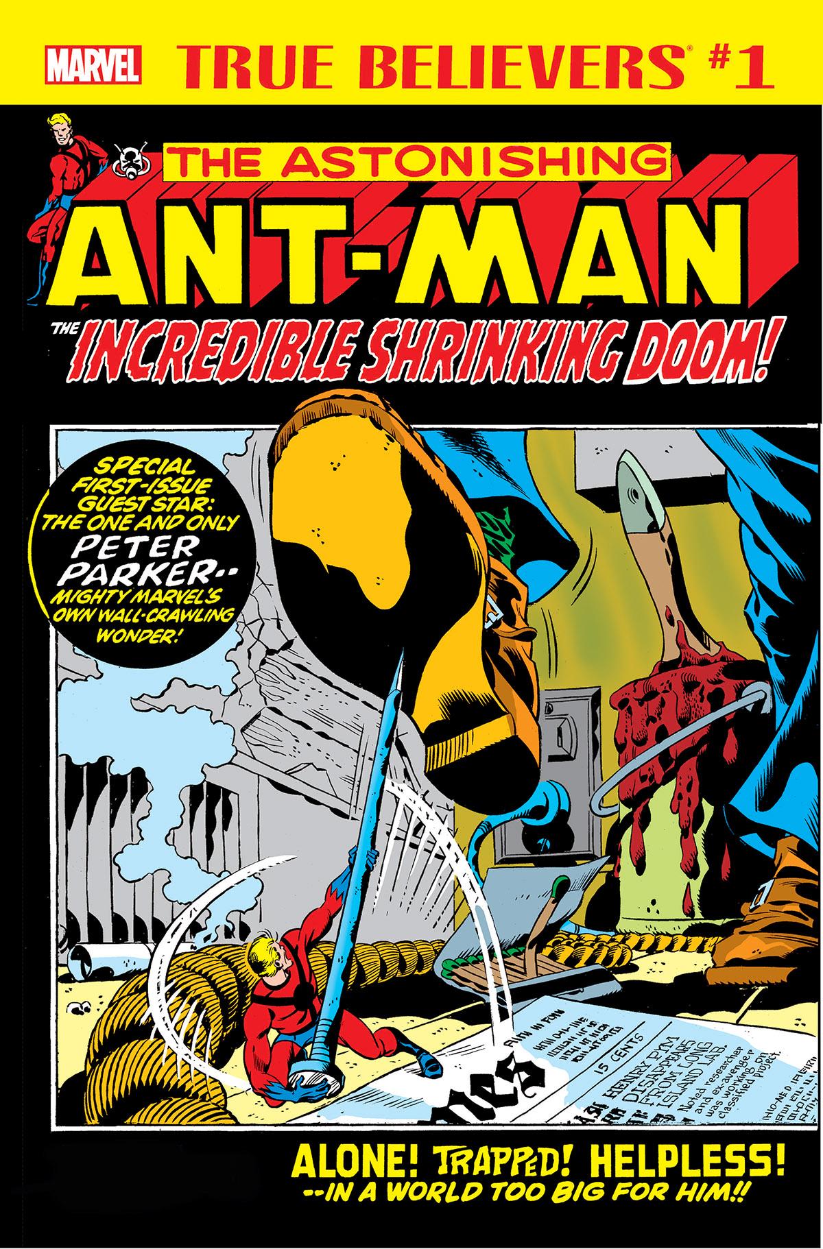 True Believers: Ant-Man - The Incredible Shrinking Doom (2018) #1