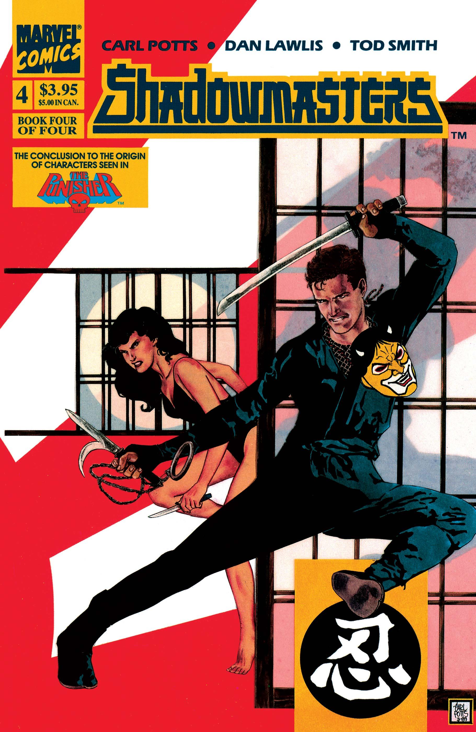 Shadowmasters (1989) #4