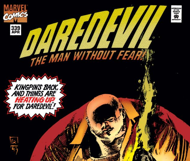 cover from Daredevil (1964) #339