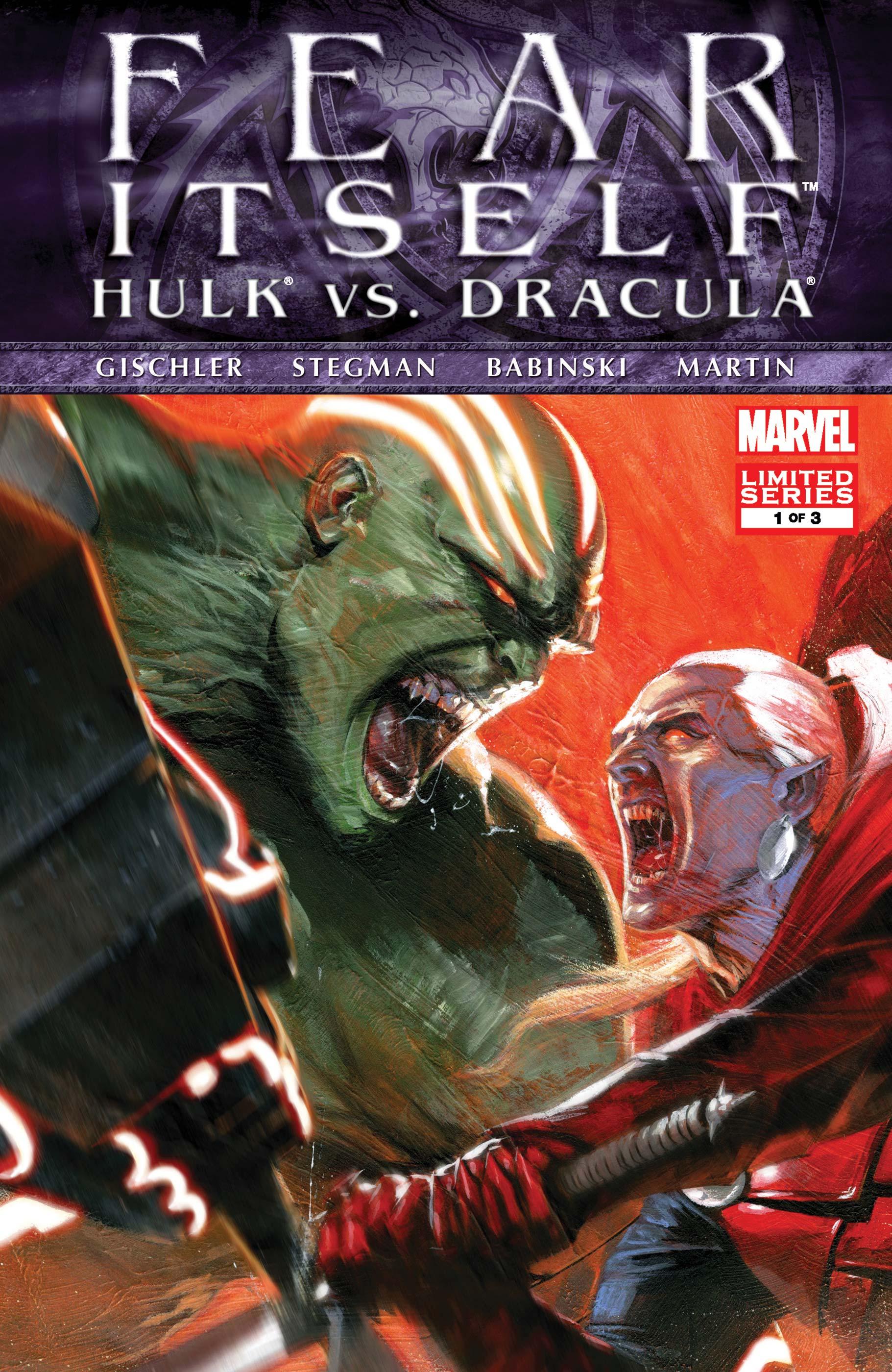 Hulk Vs. Dracula (2011) #1