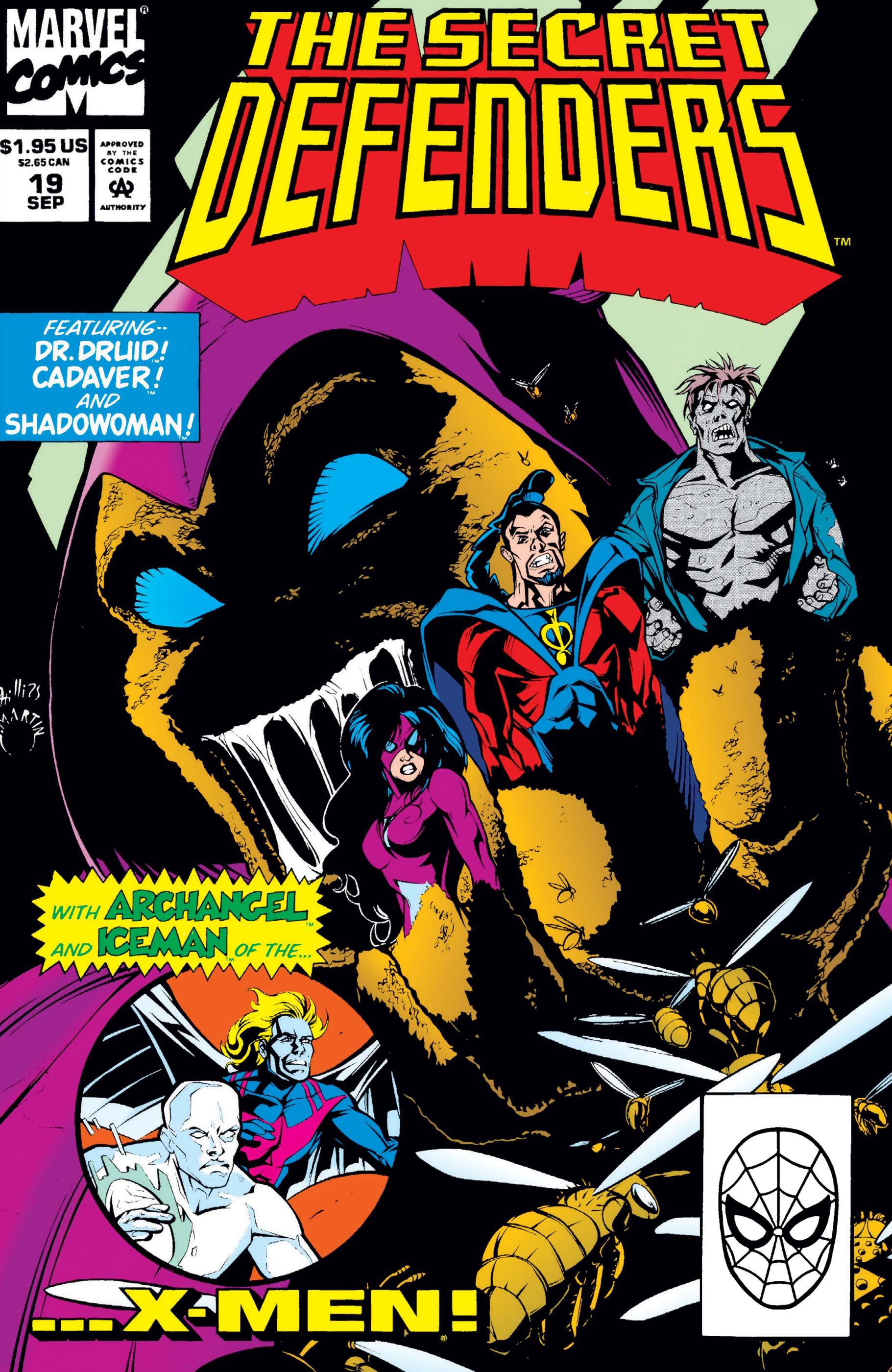 Secret Defenders (1993) #19