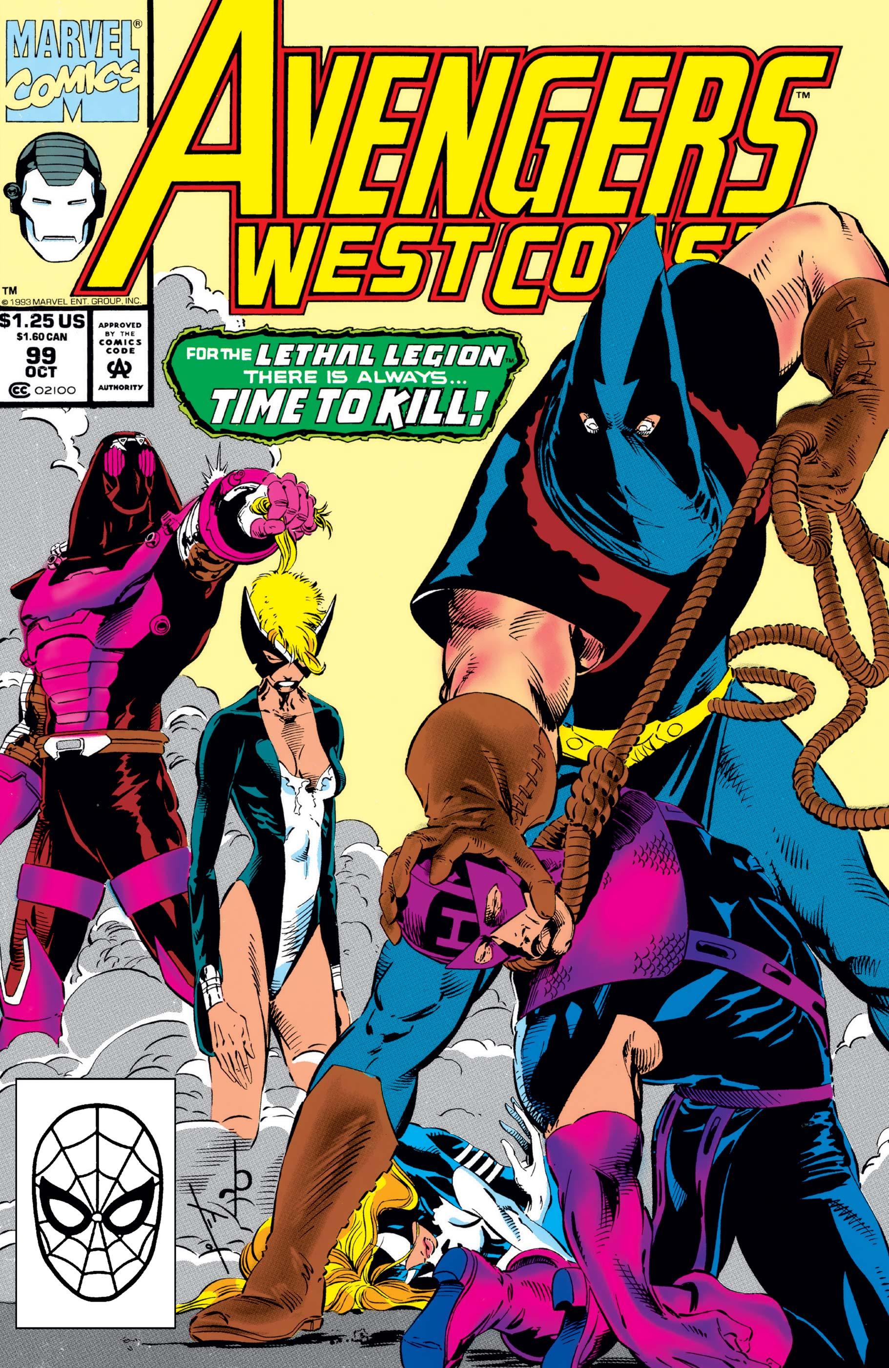 West Coast Avengers (1985) #99