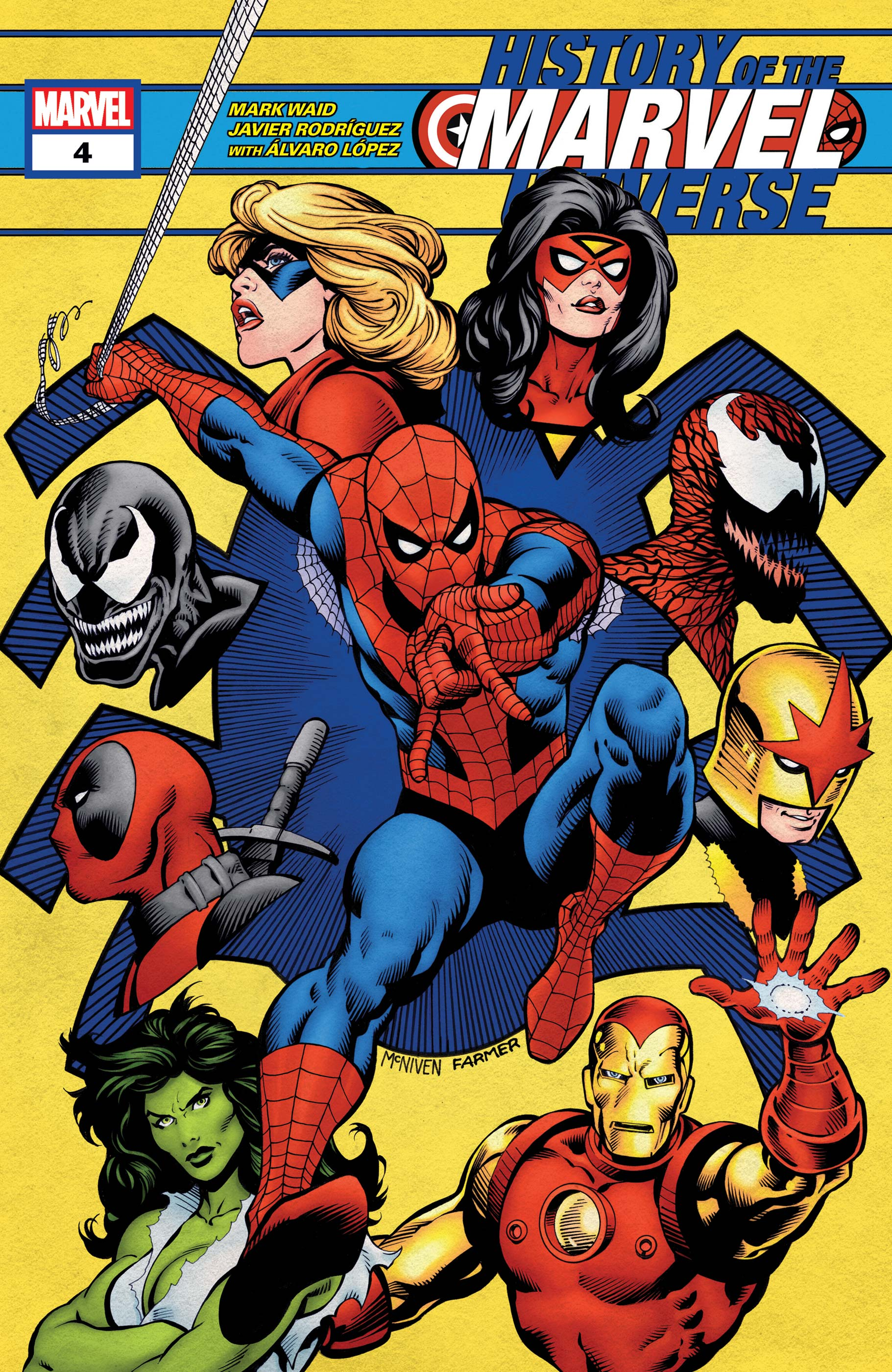 History of the Marvel Universe (2019) #4
