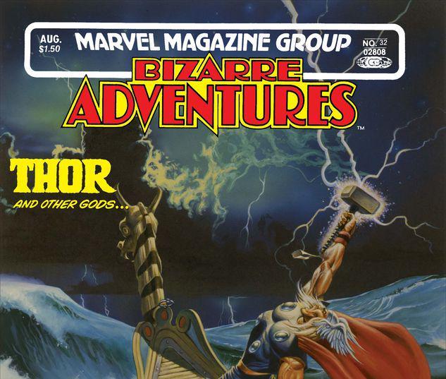 Bizarre Adventures #32