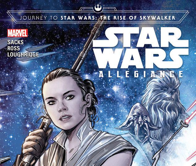 Journey To Star Wars The Rise Of Skywalker Allegiance Trade Paperback Comic Issues Comic Books Marvel