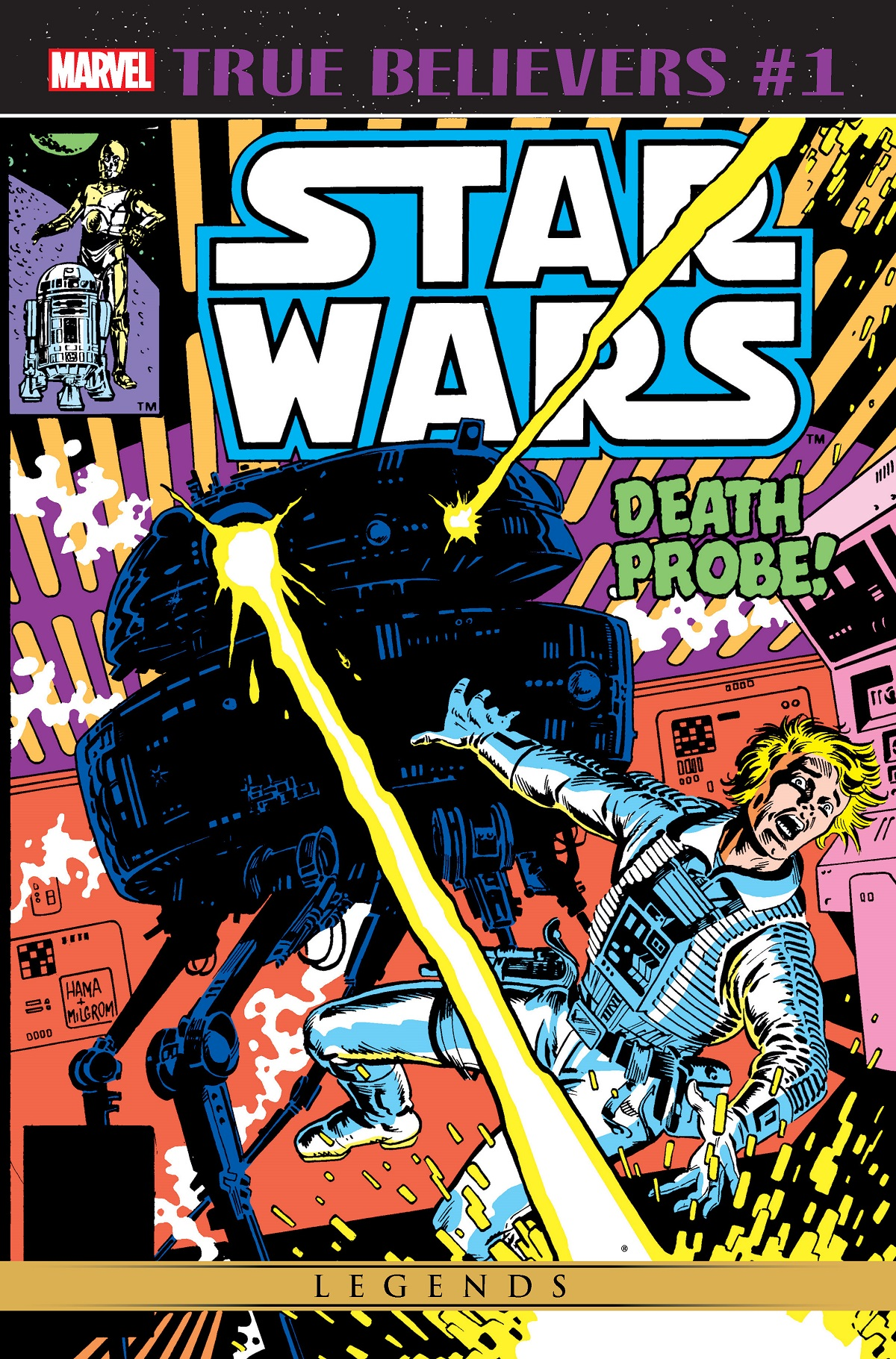 True Believers: Star Wars - Death Probe (2019) #1