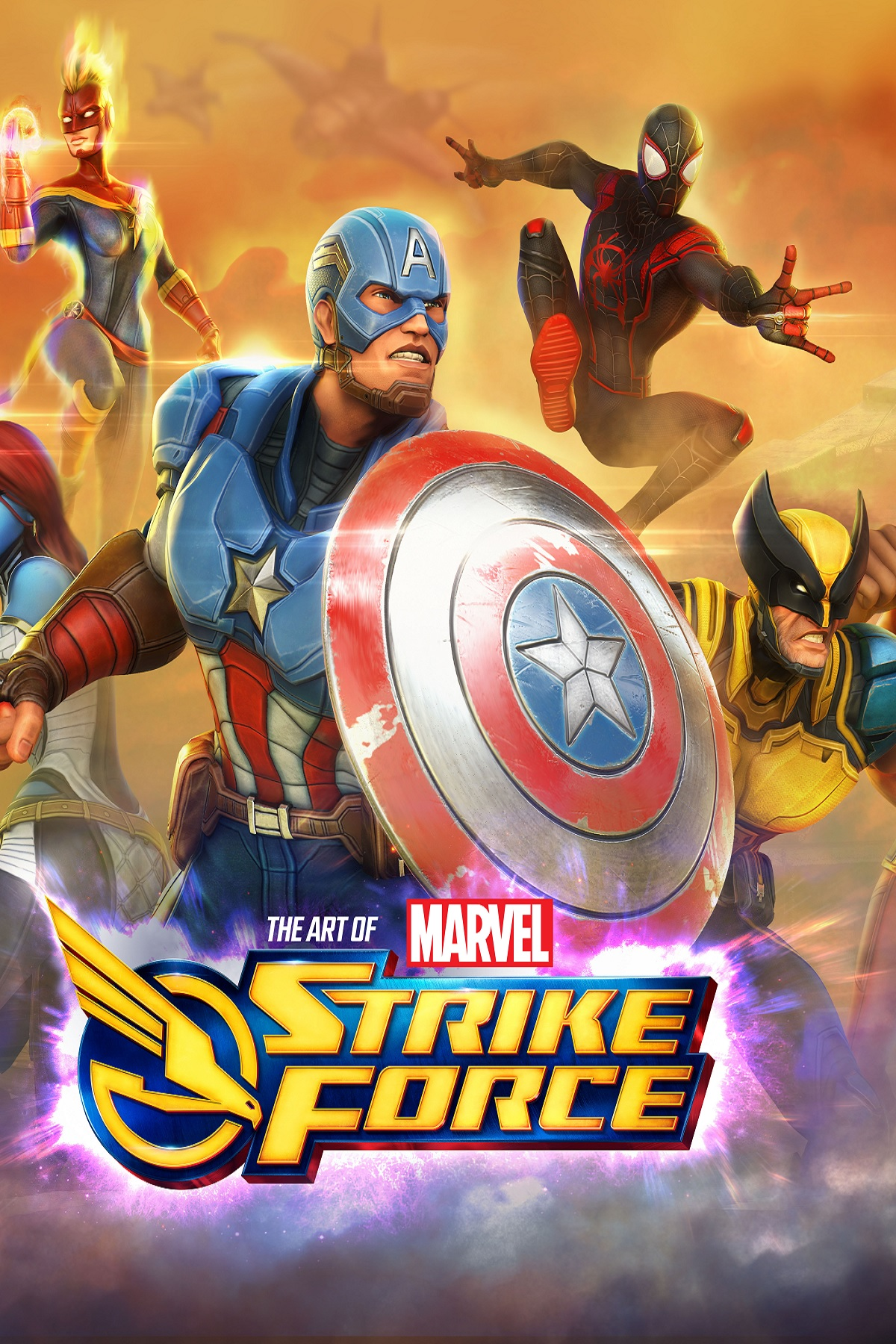 Marvel Strike Force: The Art of the Game (Hardcover)