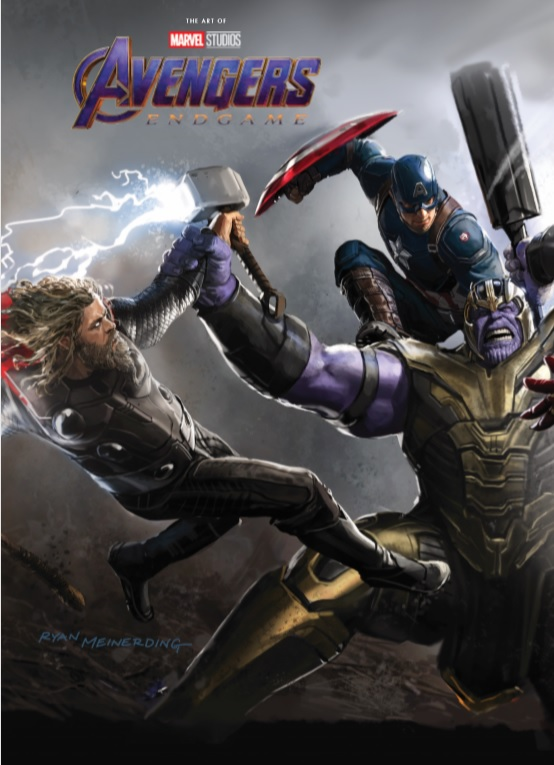 Marvel's Avengers: Endgame - The Art Of The Movie (Hardcover)