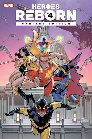 Heroes Reborn #4  (Variant)