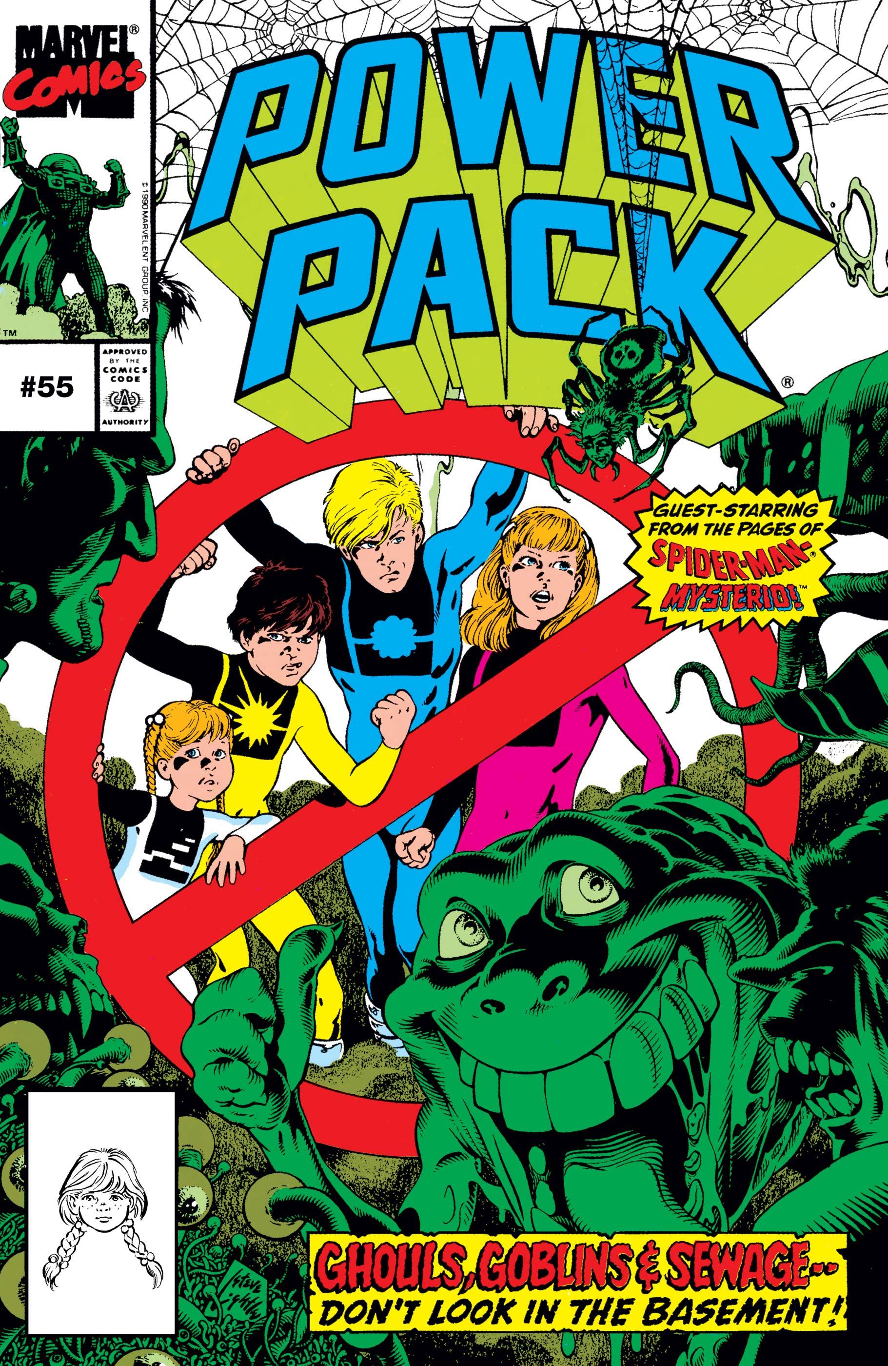 Power Pack (1984) #55