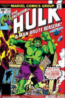 Incredible Hulk #206