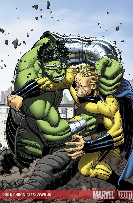 Hulk Chronicles: Wwh (2008) #6
