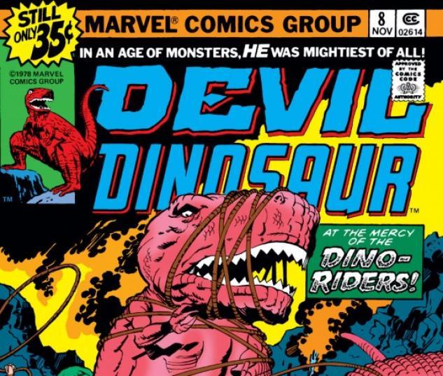 DEVIL DINOSAUR #8 COVER