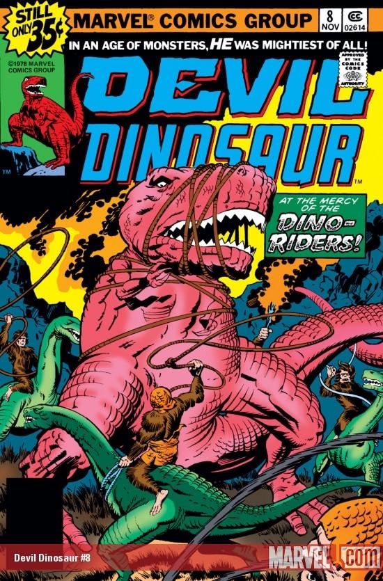 Devil Dinosaur (1978) #8