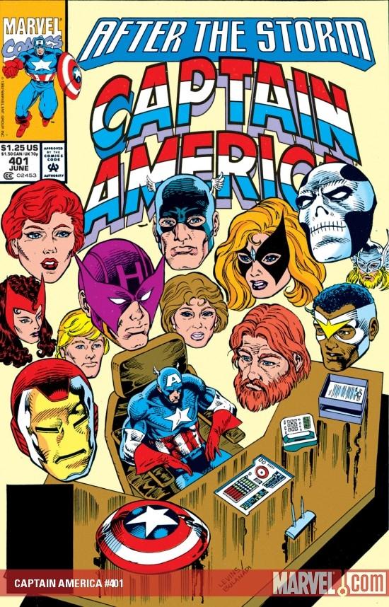 Captain America (1968) #401