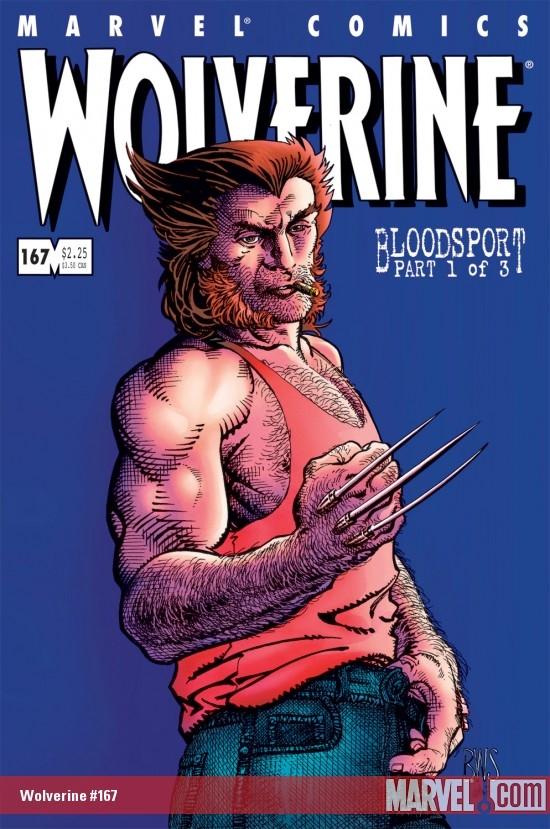 Wolverine (1988) #167